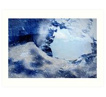 Through The Ice Art Print