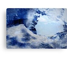 Through The Ice Canvas Print