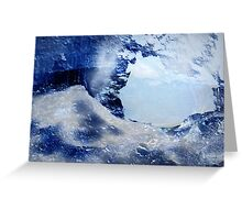 Through The Ice Greeting Card