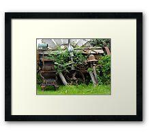 Rusty Relics Framed Print