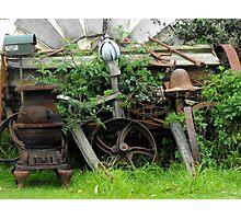 Rusty Relics Photographic Print