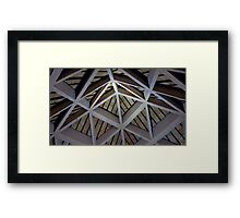 Angle And Lines Framed Print