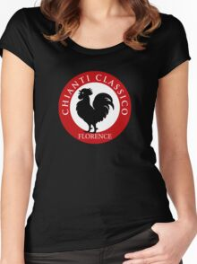 Black Rooster Florence Chianti Classico  Women's Fitted Scoop T-Shirt