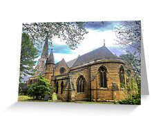 Church of the Holy Sepulchre (1) Greeting Card