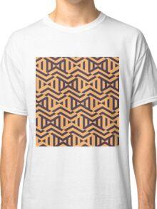 Orange Patterns Classic T-Shirt