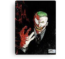 Joker - Carnage Canvas Print