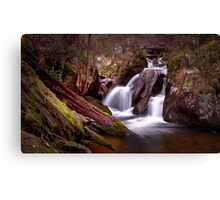Telephone Box Junction Falls Canvas Print