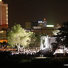 outdoor concert  by loyaltyphoto