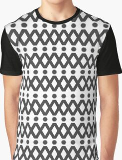 Stars and Triangles Graphic T-Shirt