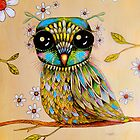 the peridot owl by © Cassidy (Karin) Taylor
