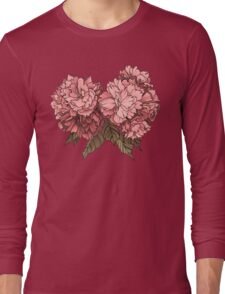 Botanical - Tattoo Flash Long Sleeve T-Shirt