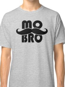MO BRO for Mustached Gentlemen ~ MOVEMBER Classic T-Shirt