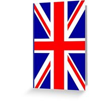 Mod British Union Jack by 'Chillee Wilson'  Greeting Card