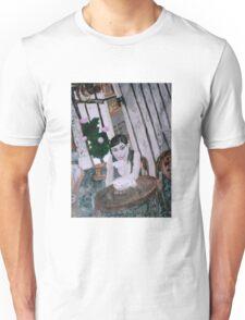 Girl in Cafe Unisex T-Shirt