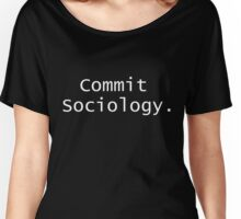 Commit Sociology x2 Women's Relaxed Fit T-Shirt