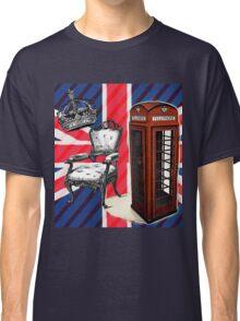 modern jubilee telephone booth london UK fashion Classic T-Shirt