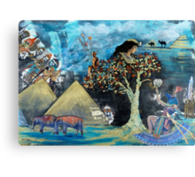 Egyptian Serenade Canvas Print