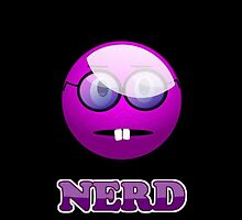 Funny Nerdy Geek Cartoon by 'Chillee Wilson' by ChilleeWilson