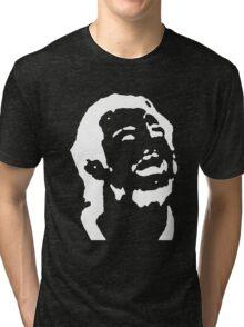 Doughty Face TeeShirt 03 - white screen Tri-blend T-Shirt
