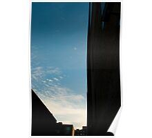 Sky Wedge Poster