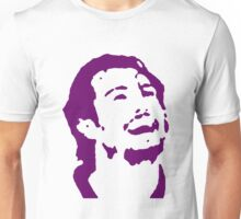 Doughty Face TeeShirt 03 - purple screen Unisex T-Shirt