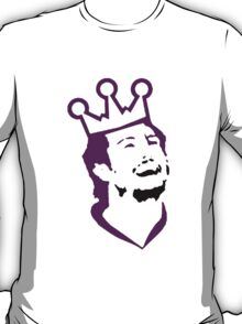 Doughty Face TeeShirt - purple screen T-Shirt