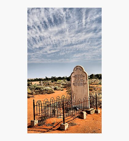 R.I.P. Silverton NSW Australia Photographic Print