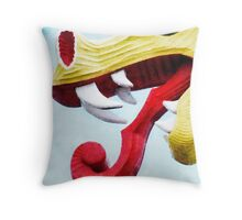 The Viking Dragon Throw Pillow