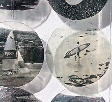 Sailing Longboard by Vikki-Rae Burns