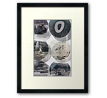 Sailing Longboard Framed Print
