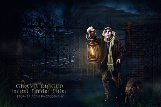 Grave Digger, Haunted Mansion Series by Topher Adam The Dark Noveler by TopherAdam