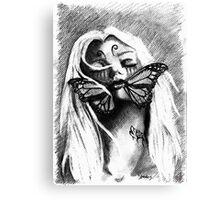 Silent deception Canvas Print