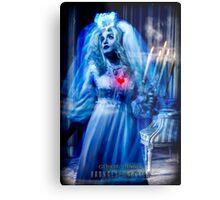 Ghost Bride, Haunted Mansion Series by Topher Adam The Dark Noveler Metal Print