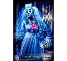 Ghost Bride, Haunted Mansion Series by Topher Adam The Dark Noveler Photographic Print