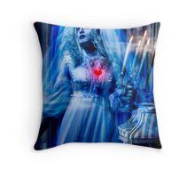 Ghost Bride, Haunted Mansion Series by Topher Adam The Dark Noveler Throw Pillow