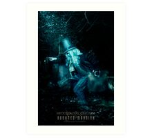 The Hitchhiking Ghosts, Haunted Mansion Series by Topher Adam The Dark Noveler Art Print