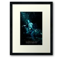 The Hitchhiking Ghosts, Haunted Mansion Series by Topher Adam The Dark Noveler Framed Print