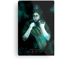 Aunt Florence, Haunted Mansion Series by Topher Adam The Dark Noveler Metal Print