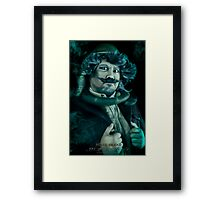 Bertie, Haunted Mansion Series by Topher Adam The Dark Noveler Framed Print