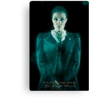 Cousin Maude, Haunted Mansion Series by Topher Adam The Dark Noveler Canvas Print