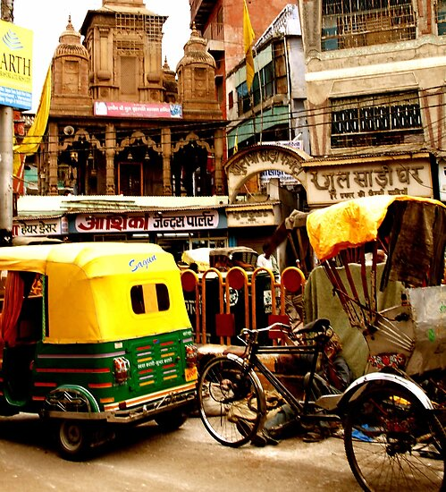 Streets of India by KerryPurnell