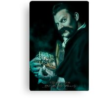 Uncle Jacob, Haunted Mansion Series by Topher Adam The Dark Noveler Canvas Print