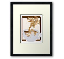 Swimming In The Java Seas Framed Print