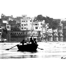 The River Ganges, India. by KerryPurnell
