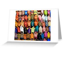 Marrakesh Markets Greeting Card