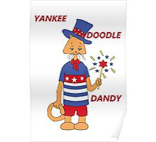Yankee Doodle Kitty Poster