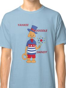 Yankee Doodle Kitty Classic T-Shirt