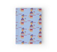 Yankee Doodle Kitty Hardcover Journal