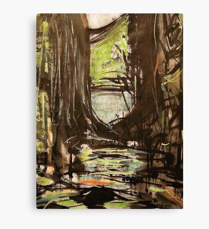 pass.... pool swamp Canvas Print