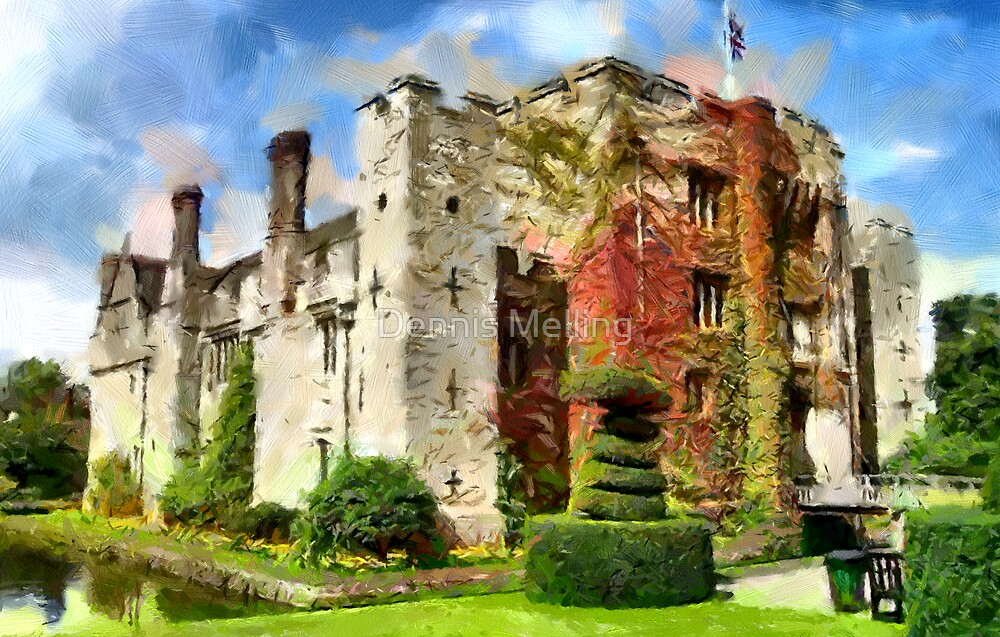 Hever Castle, Kent, home of Anne Boleyn and Anne of Cleves by Dennis Melling